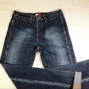 Tommy Hilifiger Women's Denim bell bottom jeans 28